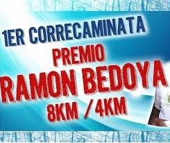 Resultados 1º Correcaminata Premio Ramon Bedoya 2016